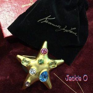 ⭐️Kenneth Jay Lane STAR Brooch